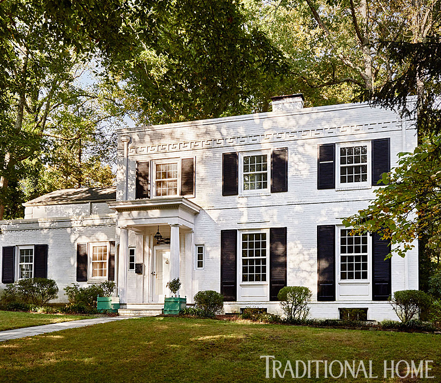 At Home In A Madcap Cottage Traditional Home