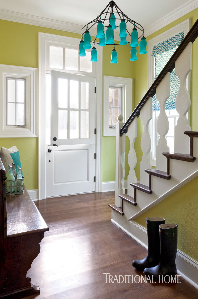 Colorful Family-Friendly Home in Arkansas | Traditional Home