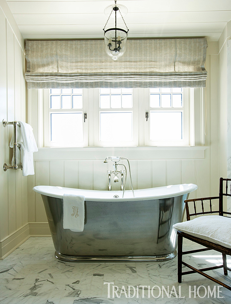 Focal-Point Bathtubs   Traditional Home