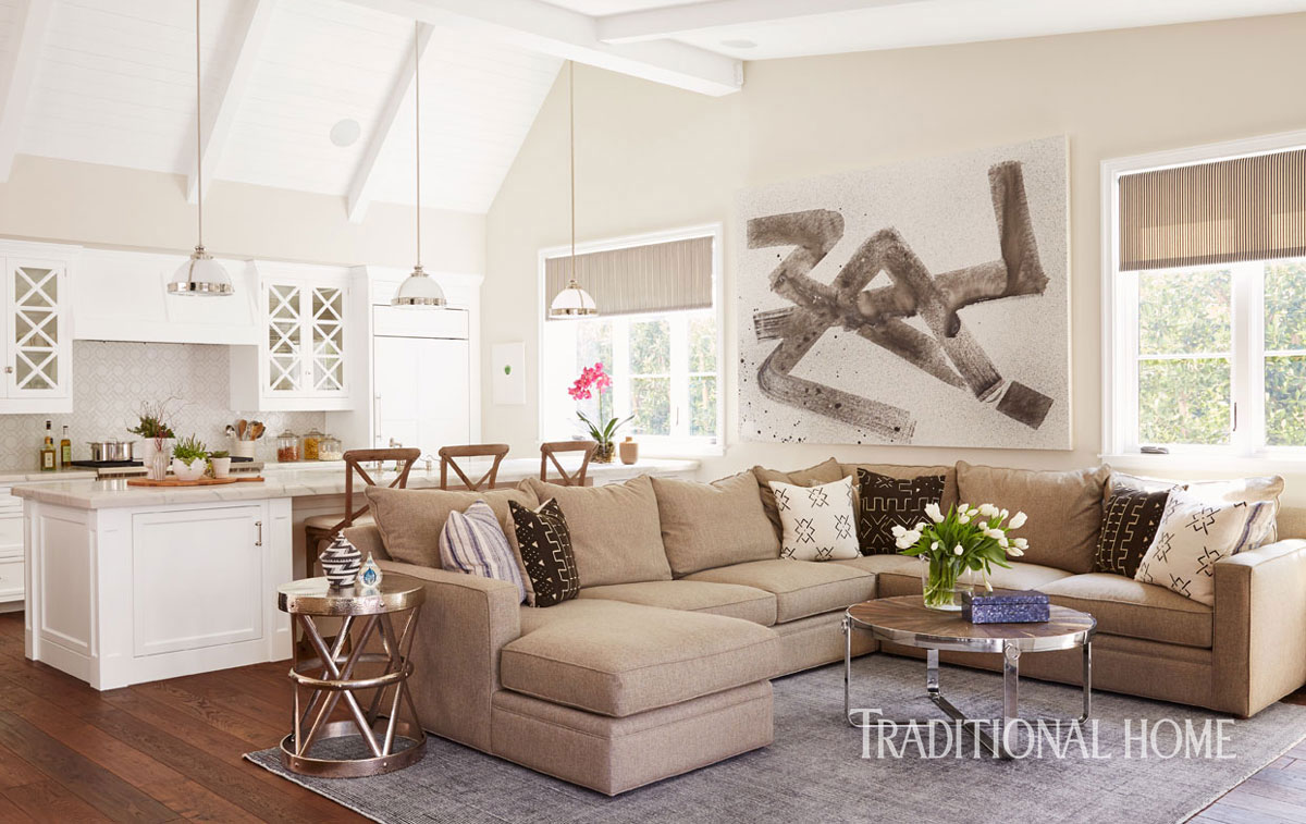 ENLARGE. A Young Family s West Hollywood Home   Traditional Home