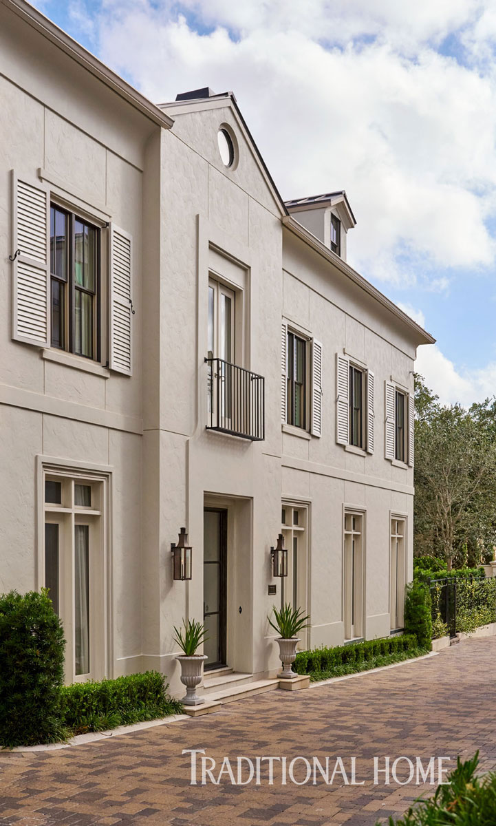 Elegant yet edgy houston home traditional home for Beautiful homes in houston