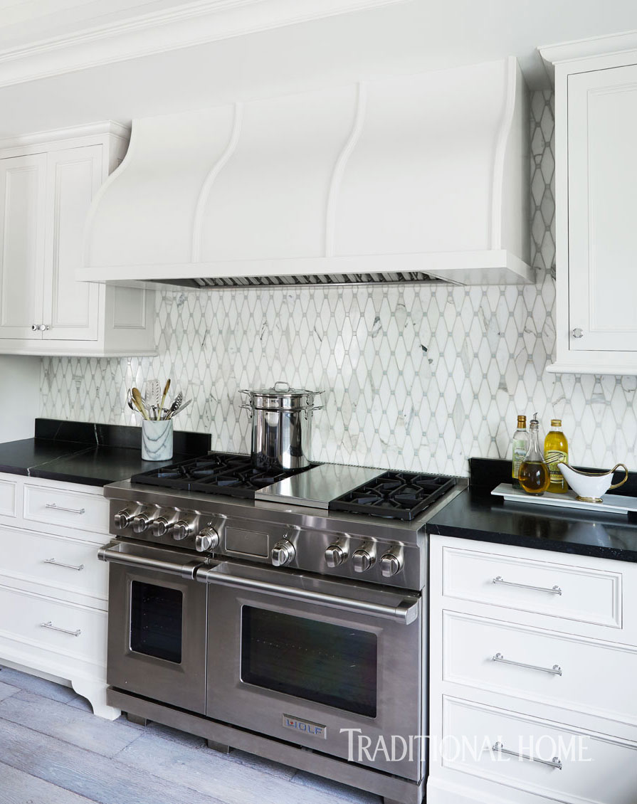 Pretty Kitchen in Quiet Colors | Traditional Home