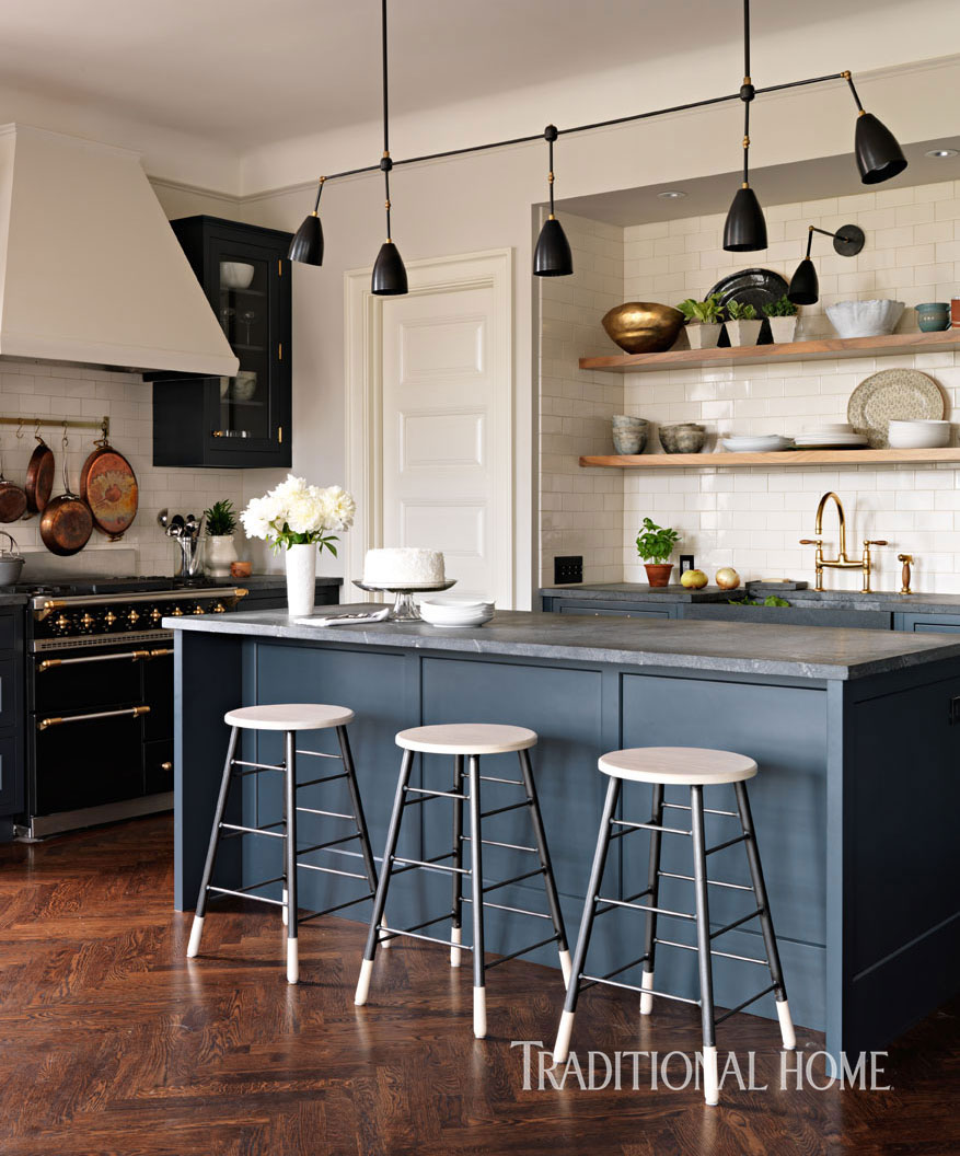 A Designer\'s Updated Manhattan Kitchen | Traditional Home