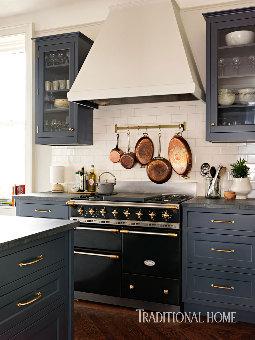 Traditional Home Kitchen: A Designer's Updated Manhattan Kitchen