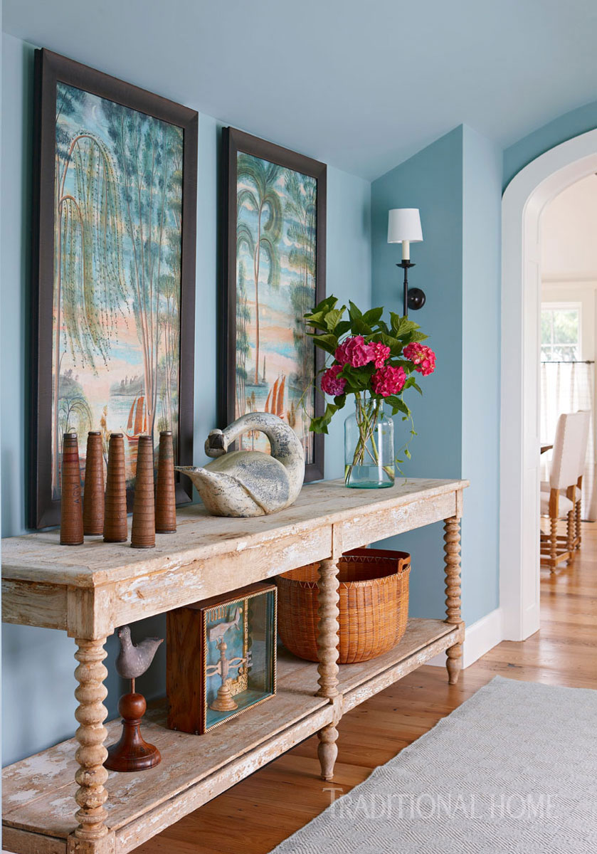 Spacious family home on nantucket traditional home for Interior design 02554