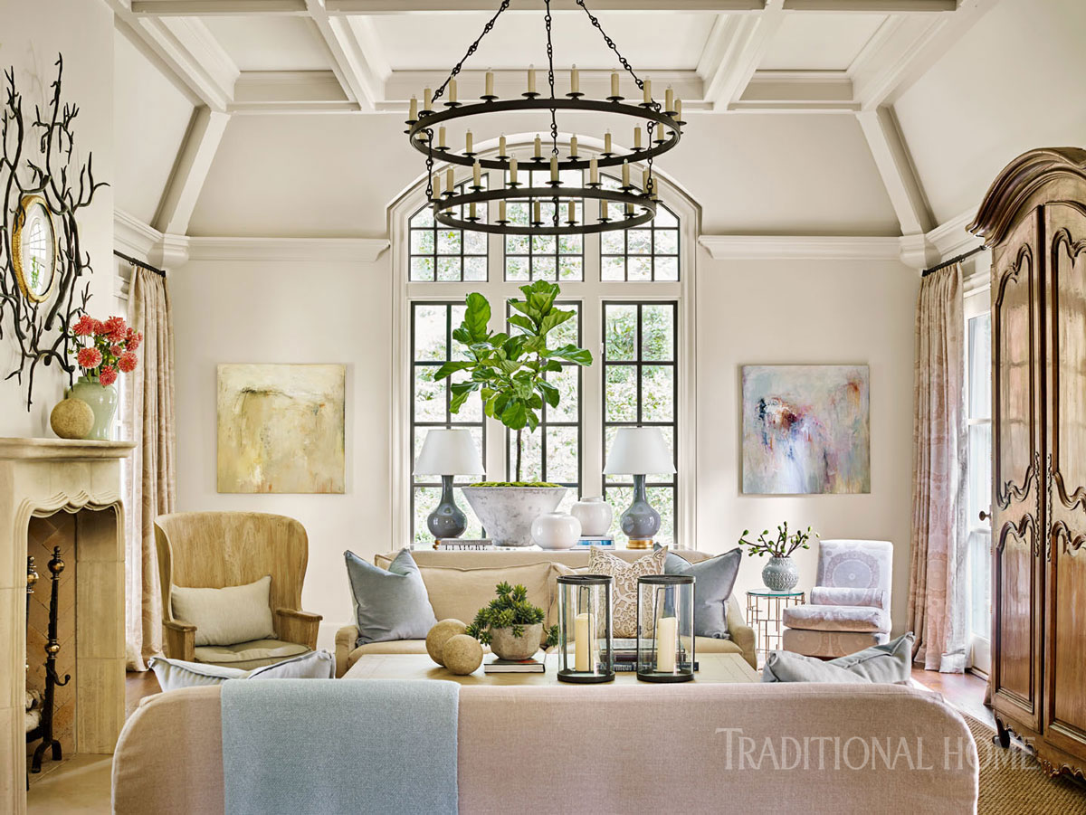 Elegant Atlanta Home with a Quiet Palette | Traditional Home
