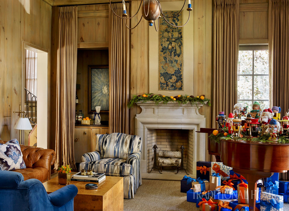 Holiday Home Dressed in Shades of Blue | Traditional Home