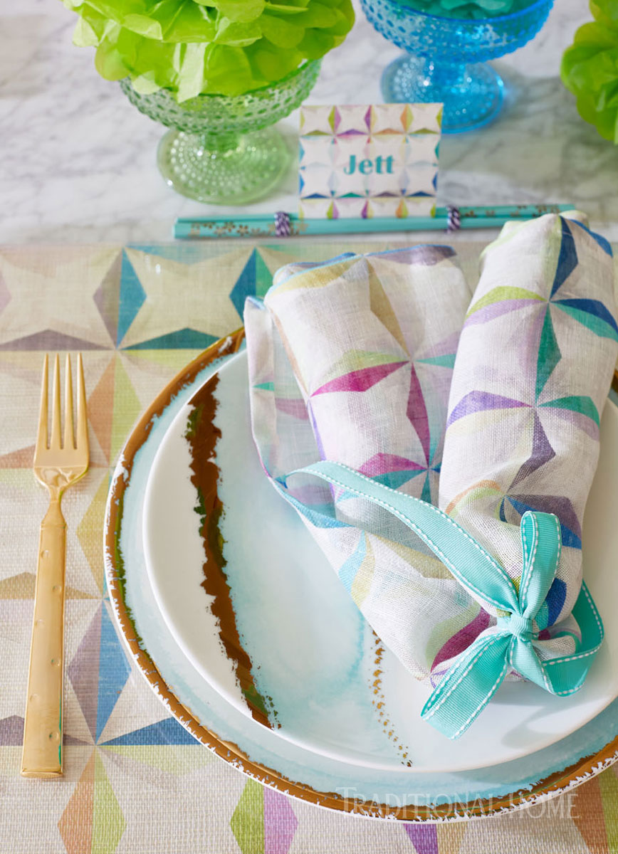 Coloful, Kid-Friendly Party | Traditional Home