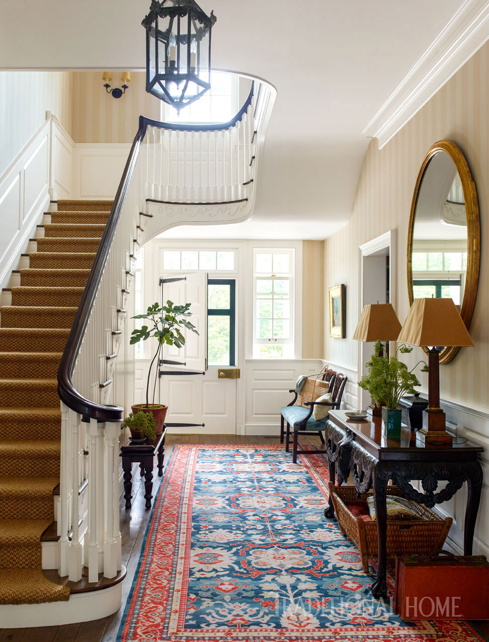 Home Interior Entrance Design Ideas: Dutch Colonial Home Rooted In History