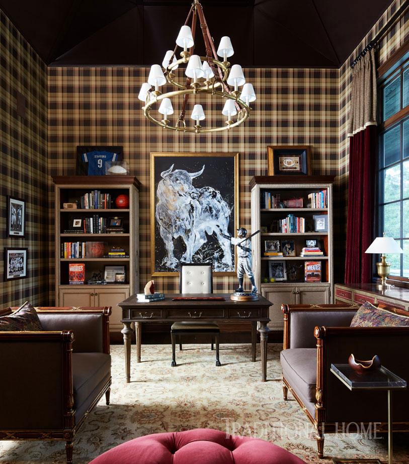 Currey And Company Lucien: Stylish Family Home In Detroit