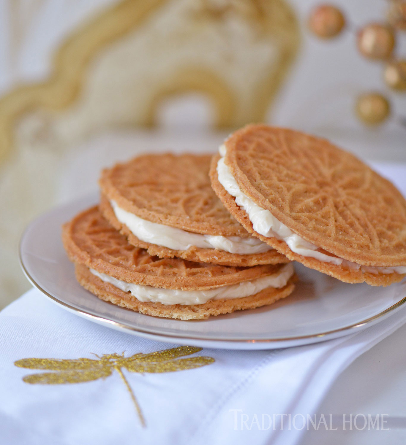 Waffle Wafer Cookies A French-Canadian Chri...