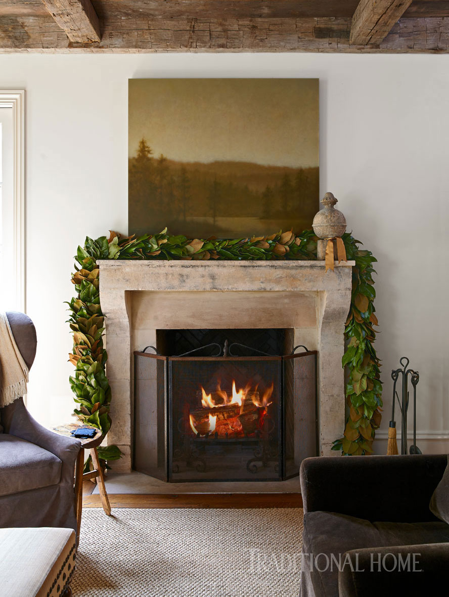 holiday whispers in an alabama home traditional home