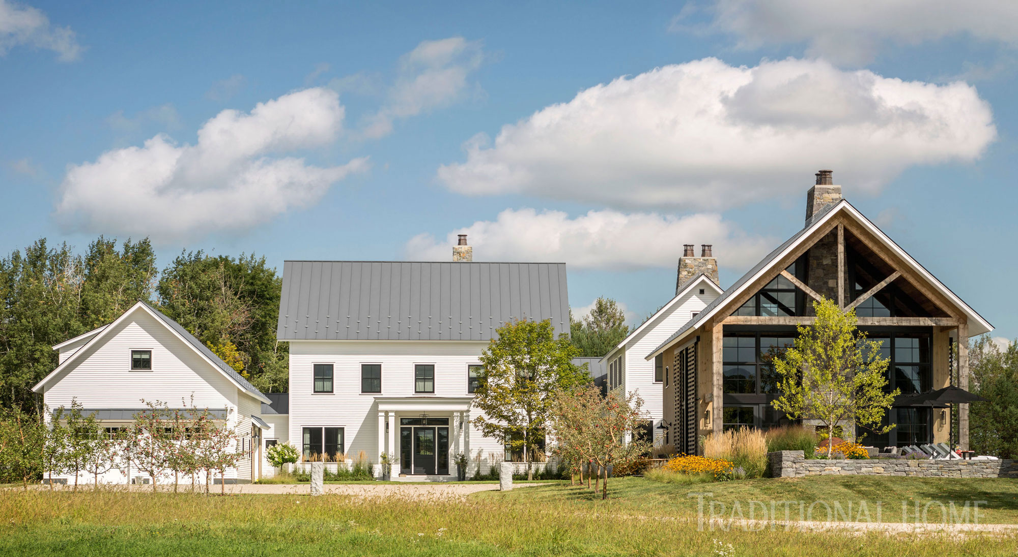 Vermont Home with Beautiful Farmhouse Style | Traditional Home