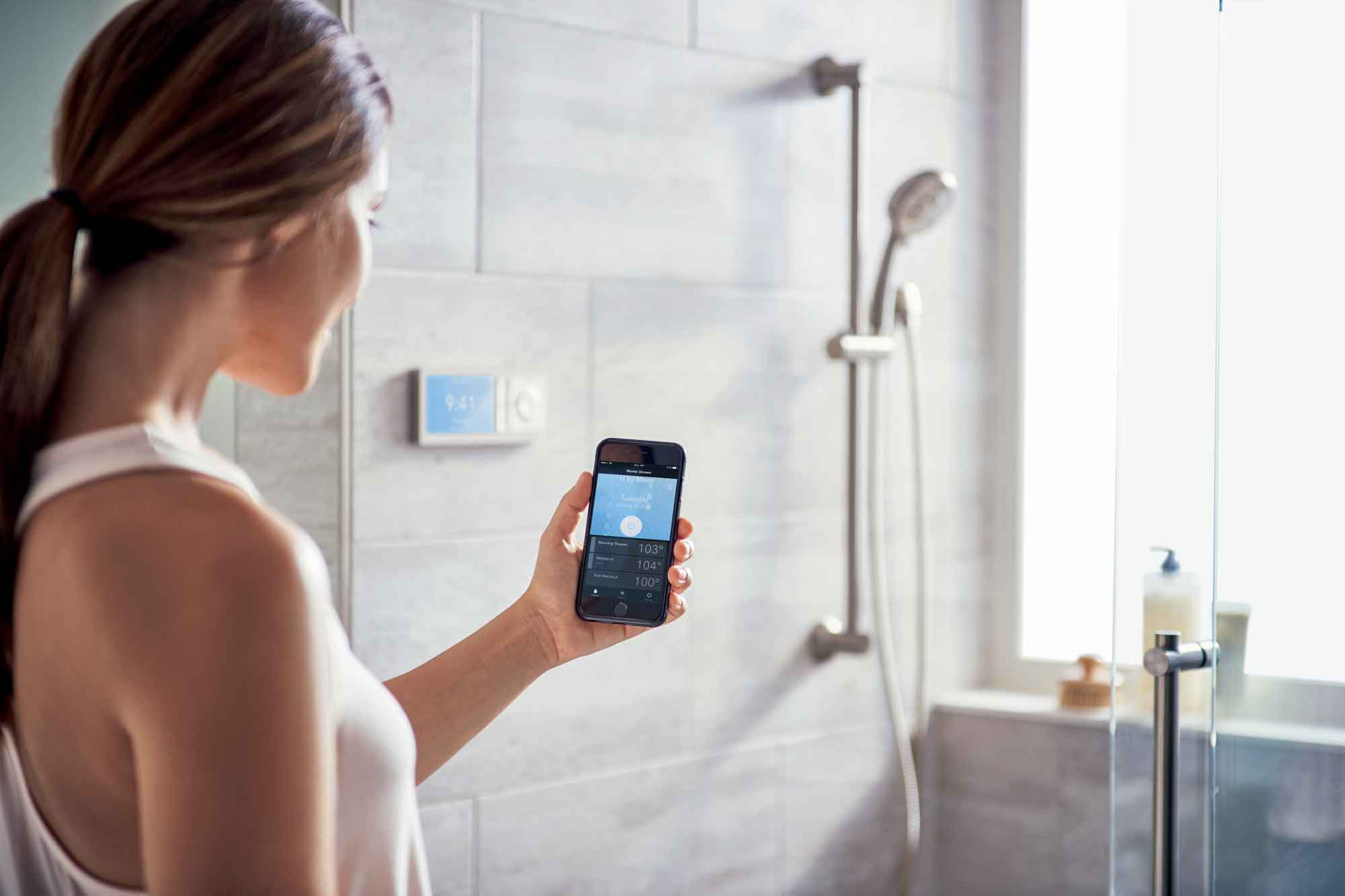 U by Moen with Voice Activation shower