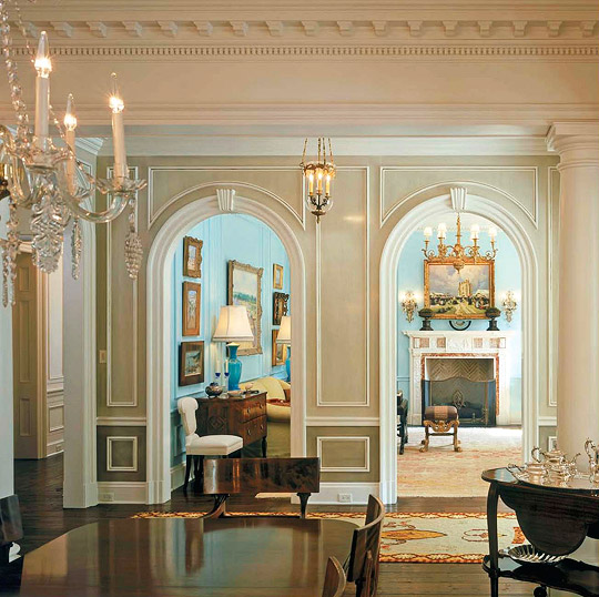Lake House Interior Design: A Classical Journey: The Work Of Architect Ken Tate