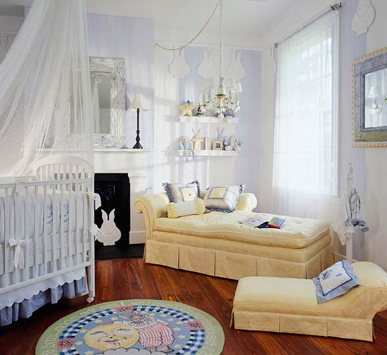 Peaceful Nursery Bedroom