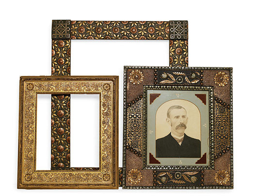 Beautiful Antique Frames Traditional Home