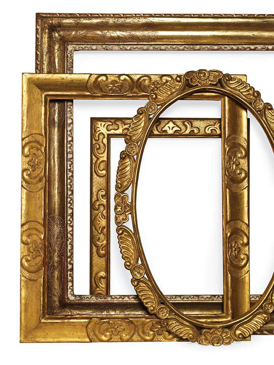 Antique Picture Frames Part - 50: Arts And Crafts Frames Are Notable For Their Artisanal Quality, With  Hand-carved And Hand-rubbed Patina. Favored By American Impressionists.