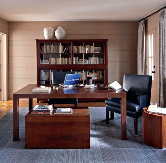versatile office - Traditional Home Office