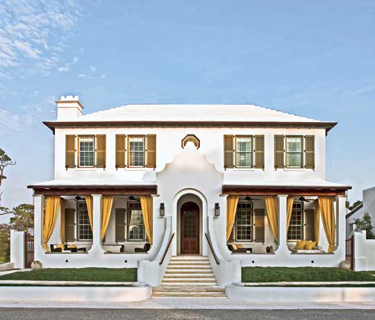 Beauty And Conservation In Alys Beach Traditional Home
