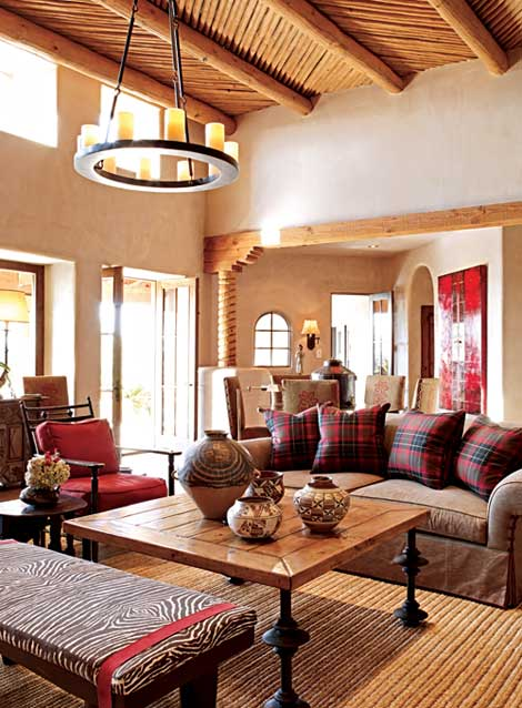 Style Setting Ceilings Traditional Home