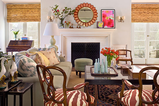 Beautiful Traditional Home Interiors: Family-Friendly And Colorful