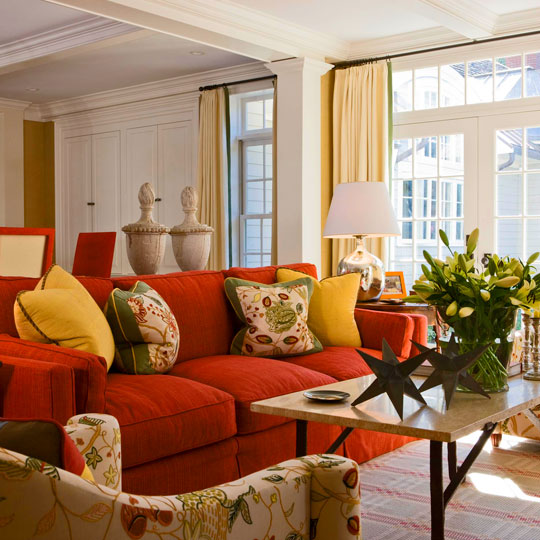 Casual Comfortable And Colorful Home Traditional Home