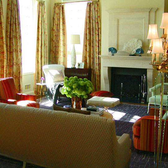 colorful chairs for living room.  ENLARGE Decorating Favorite Fall Colors Traditional Home