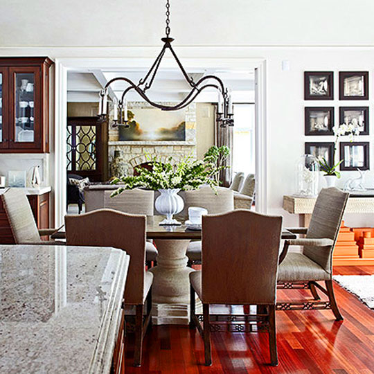 Glamour And Sophistication Traditional Home