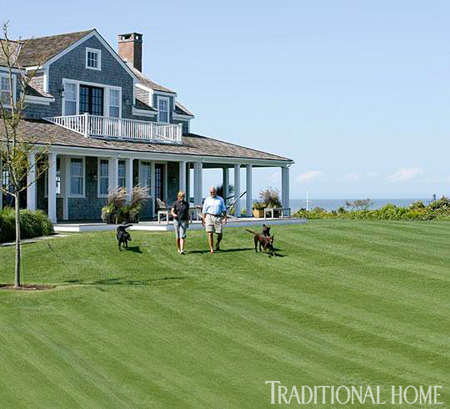 Nantucket Shingle Style Traditional Home