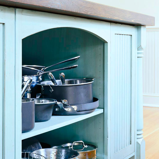 Pots And Pans Storage Ideas To Take Note Of: Great Kitchen Storage Ideas