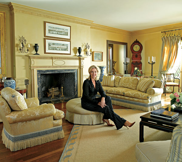 Inside Deborah Norville S Edition Traditional Home