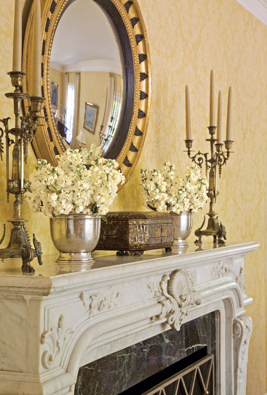 Spring Decor For Fireplace Mantel