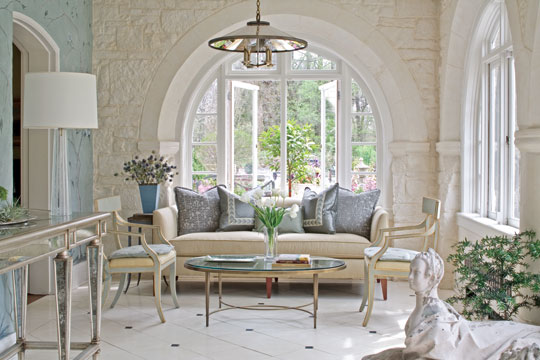 Showhouse Showcase Sensationally Soothing Traditional Home
