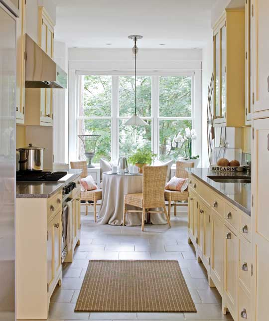 Small Kitchen Spaces beautiful, efficient small kitchens | traditional home