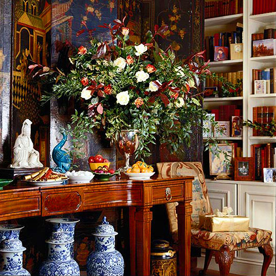 Decorating Tablescapes Traditional Home