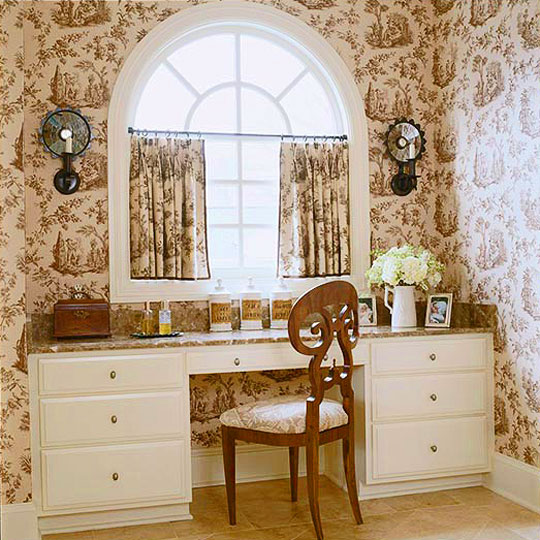 Bedroom Decorating Ideas Totally Toile: Decorating Ideas: Toile Fabric