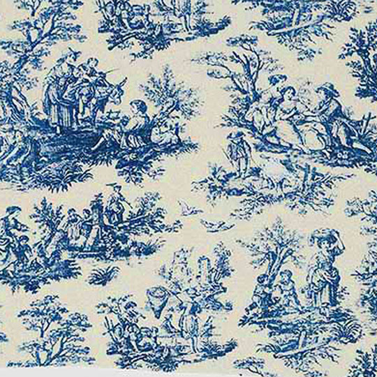 French Toile Fabric Roselawnlutheran