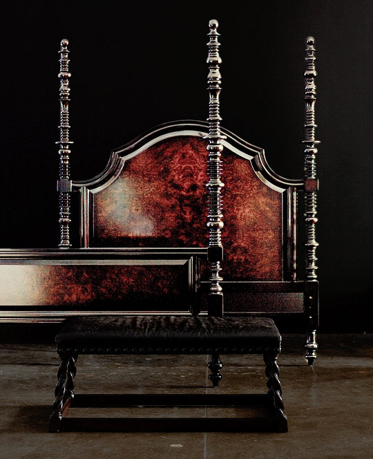 Classic Turned Wood Furniture Traditional Home