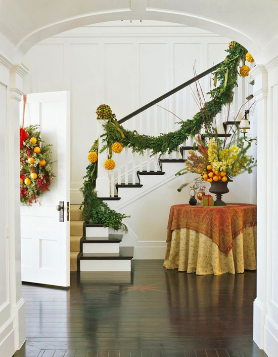 enlarge - Christmas Decorating Ideas For Foyer
