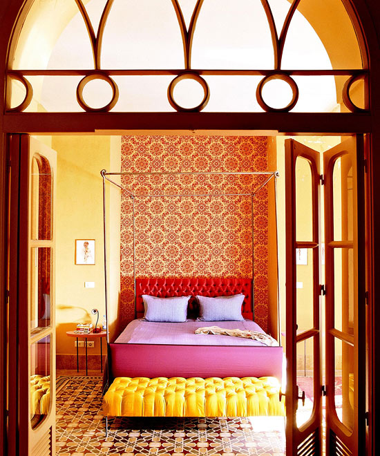 Home Decor Ideas For Bedroom bedroom decorating ideas: from arty to exotic | traditional home