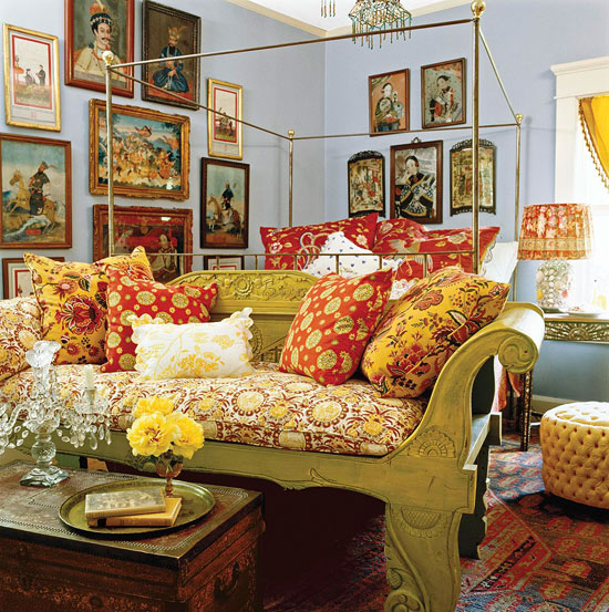 bedroom decorating ideas: from arty to exotic | traditional home