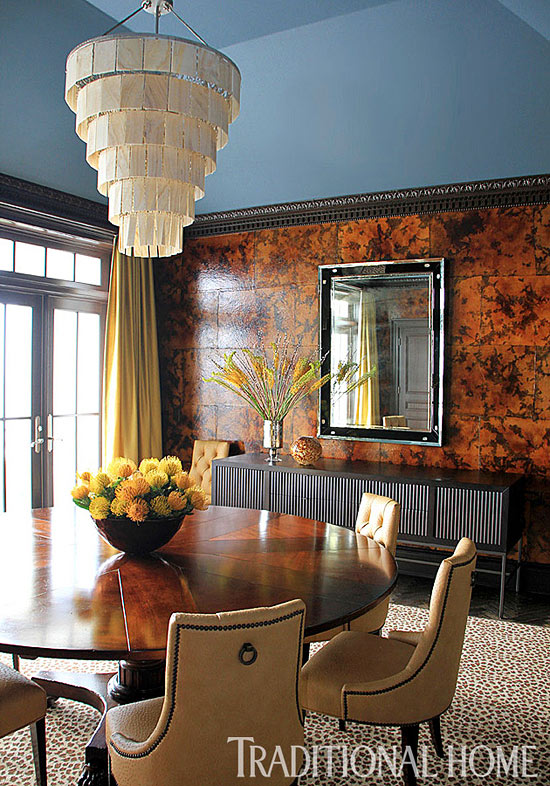 Bold All Over Traditional Home