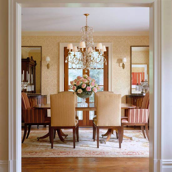 comfortable elegance meredith vieira s home traditional home. Black Bedroom Furniture Sets. Home Design Ideas