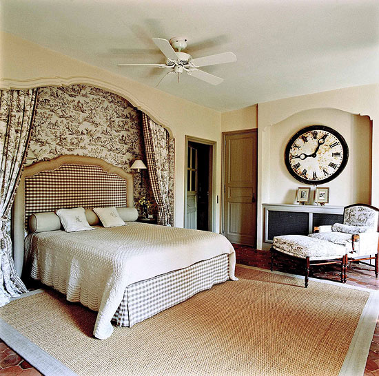 Bedroom Decorating Ideas: Totally Toile | Traditional Home