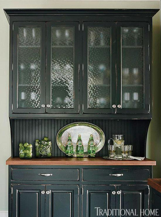 Glass In Kitchen Cabinet Doors Cool Distinctive Kitchen Cabinets With Glassfront Doors  Traditional Home Inspiration