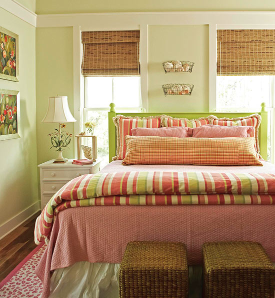 Bedroom Decorating Ideas Pillow Talk Traditional Home Beauteous Bed Pillow Decorating Ideas