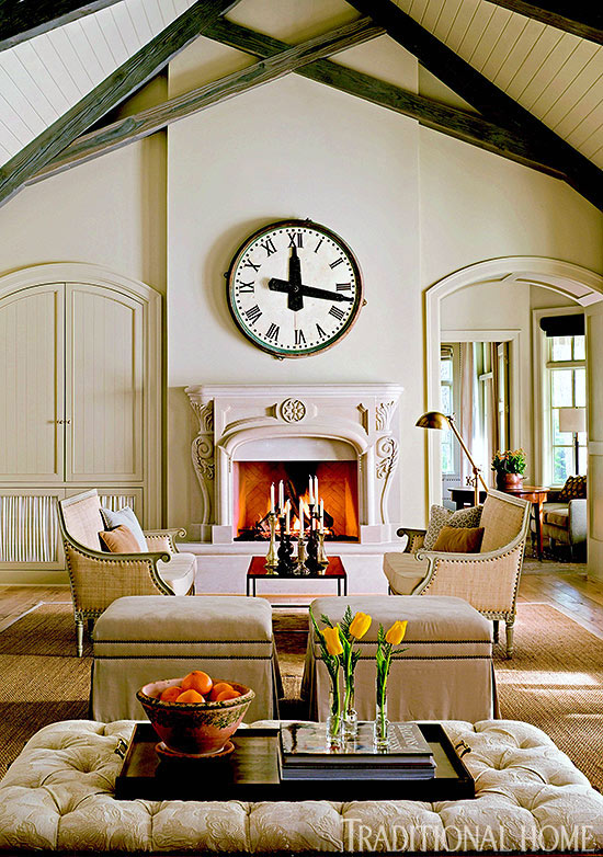 How To: Decorating with Clocks | Traditional Home
