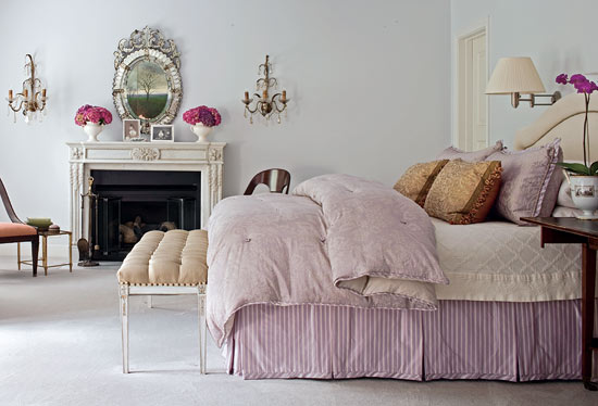 Bedroom Decorating Ideas Pillow Talk Traditional Home Magnificent How To Decorate Bed With Pillows