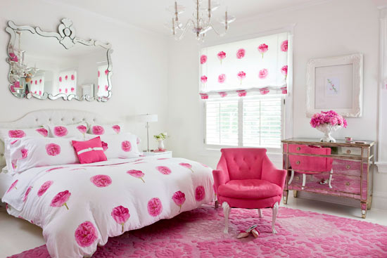 Enlarge Glam Pink Bedroom